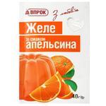 Желе Впрок со вкусом апельсина 40г