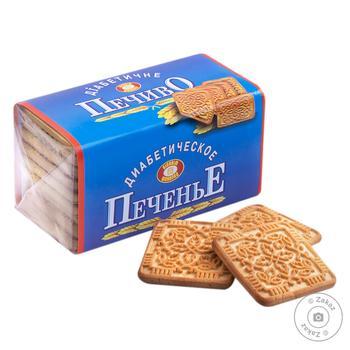 Печиво ХБФ  діабетичне 200г - купити, ціни на МегаМаркет - фото 1