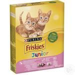 Friskies Junior Vegetables And Chicken Dry For Kittens Food