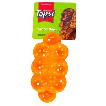 Игрушка для животных Topsi вкусная булочка 13см - купить, цены на Метро - фото 2
