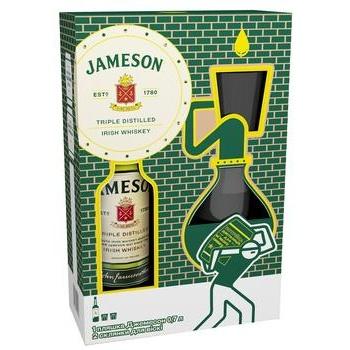 Віскі Jameson 40% 0,7л + 2 бокали набір - купити, ціни на CітіМаркет - фото 1