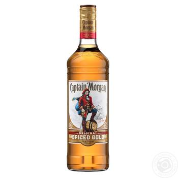 Captain Morgan Spiced Gold Rum 35% 0,7l - buy, prices for Novus - image 1