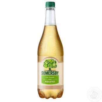 Сидр Somersby яблучний 4.7% 0,95л - купити, ціни на Фуршет - фото 1