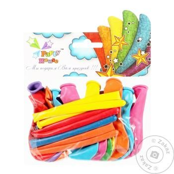 Party House Assorted Air Balloon 20pc