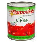 Томати La Fiammante цілі очищені 800г