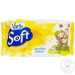Влажные салфетки Varto Soft для всей семьи 60шт