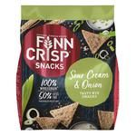 Finn Crisp Wholegrain Crispbread with Onion and Sour Cream Flavor 150g