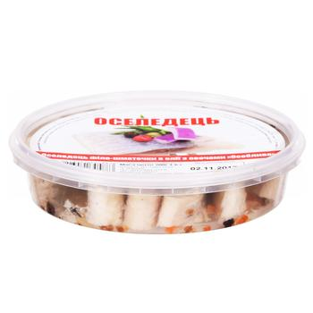 Fish herring №1 with vegetables preserves 200g - buy, prices for Tavria V - image 2