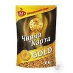Кофе Чорна Карта Gold растворимый 65г