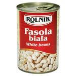 Фасоль Rolnik белая консервированная 425мл