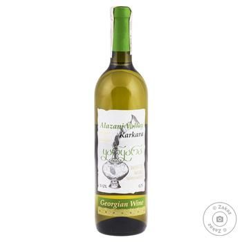 Karkara Alazanska Dolina White Semi-sweet Wine 0.75l - buy, prices for CityMarket - photo 1
