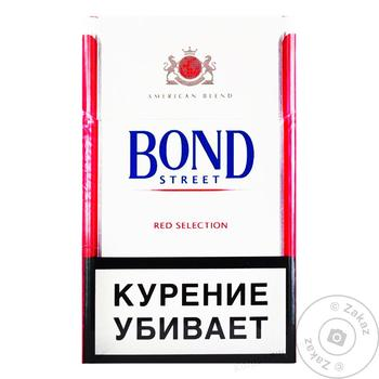 Сигареты Bond Street Red Selection - купить, цены на Ашан - фото 2