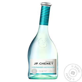 J.P.Chenet Colombard-Sauvignon White Semi Dry Wine 11% 0,75l - buy, prices for CityMarket - photo 1