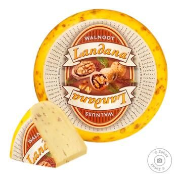 Сыр Landana Гауда с орехом 50%