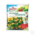Смесь овощная Hortex для жарки со шпинатом быстрозамороженная 400г