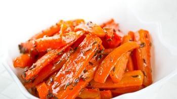 Запеченая морковь