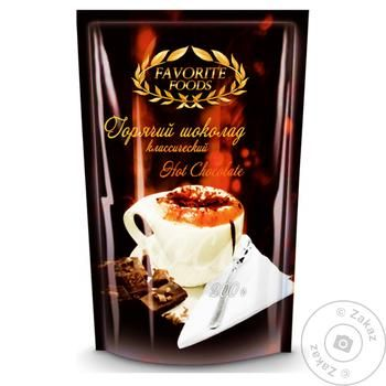Горячий шоколад Favorite Foods 200г - купить, цены на Novus - фото 1