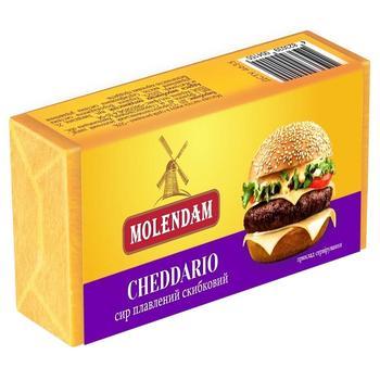 Сыр Molendam cheddario плавленный дольками 70г - купить, цены на Метро - фото 1