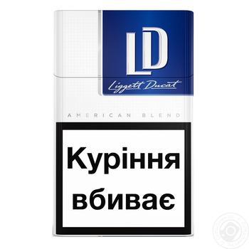 Сигареты LD Blue Limited - купить, цены на Фуршет - фото 1