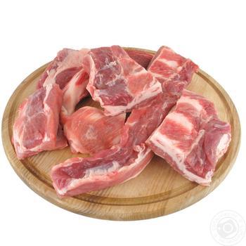 М'ясо свинне 2г обрізне охолоджене ваг