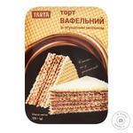 Торт Tarta Вафельный со сгущенным молоком 180г