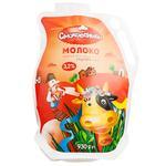 Молоко Смаковеньки пастеризованное 3,2% 930г