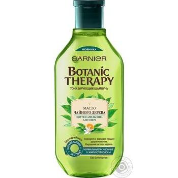 Шампунь Botanic Therapy Олія чайного дерева/евкаліпт/цитрус 400мл
