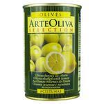 Arte Oliva With Lemon Whole Green Olives 300g