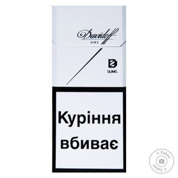 Цигарки Davidoff One Slims - купити, ціни на Фуршет - фото 1