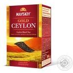 Чай черный Майский Золотой Цейлон 180г
