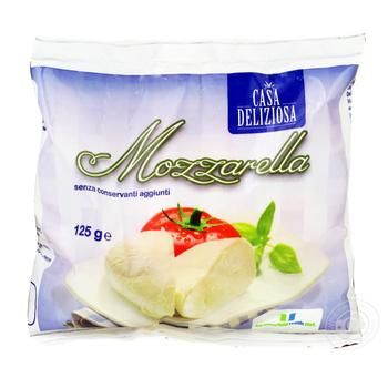 Сир Casa Deliziosa Моцарелла 125г - купити, ціни на Метро - фото 1