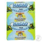 Масло Национальный Стандарт Селянське сладкосливочное 74.5% 200г Украина