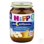 Каша ХіПП На добраніч молочна з яблуками та грушами 190г х 2шт Урогщина