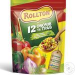 Приправа Роллтон універсальна 12 овочів та трав в гранулах 110г