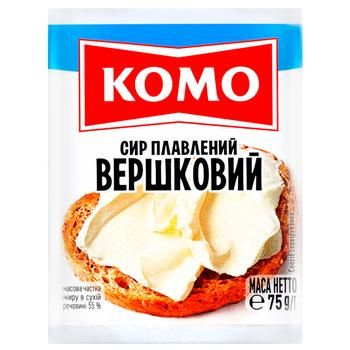 Komo Cream Processed Cheese 55% 75g