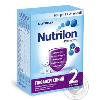 Смесь Nutricia Nutrilon Гипоаллергенный 2 600г