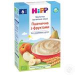Каша молочная Hipp пшеничная с фруктами 250г
