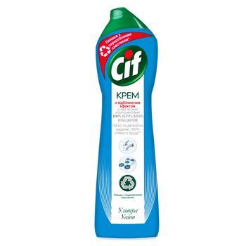 Крем для чистки Cif Ultra White c отбеливающим эффектом 500мл - купить, цены на ЕКО Маркет - фото 1