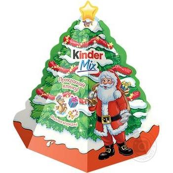 Подарочный набор Kinder Mix Елочка 152г