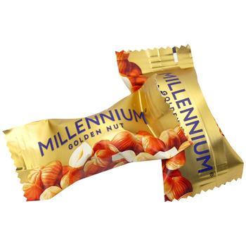 Цукерки Millennium Golden Nut з нач.та ціл.гор.ваг