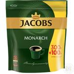 Кофе растворимый Jacobs Monarch эконом-пак 300+100г