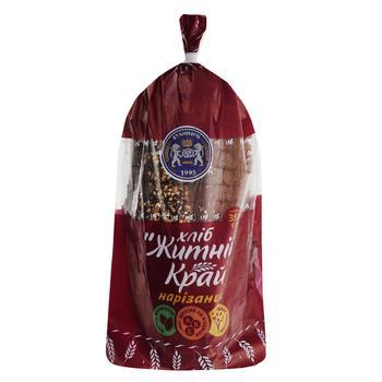 Хліб Кулиничі Житній Край нарізаний 350г - купити, ціни на Ашан - фото 1