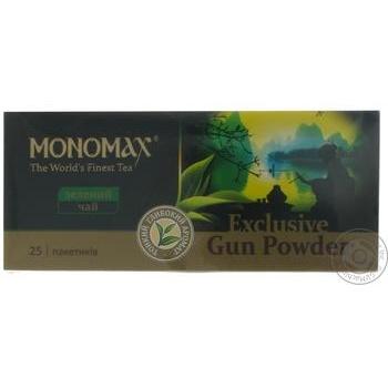 Чай зелений Мономах Exclusive 25*2г - купити, ціни на Novus - фото 3