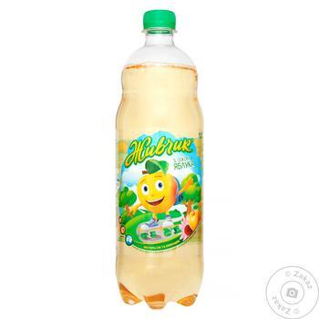 Напиток безалкогольный Живчик с соком яблока соковый сильногазированный 1л - купить, цены на Novus - фото 3