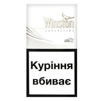 Цигарки Winston White Super Slims - купити, ціни на ЕКО Маркет - фото 2