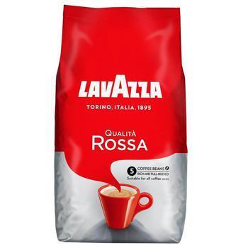 Кофе зерновой Lavazza Qualita Rossa 1кг - купить, цены на Novus - фото 1