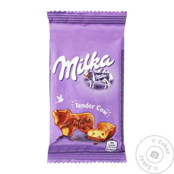 Milka Pastry with Pieces of Milk Chocolate 28g