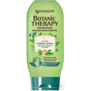 Бальзам-ополіскувач Garnier Botanic Therapy Олія чайного дерева для нормального і схильного до жирності волосся 200мл