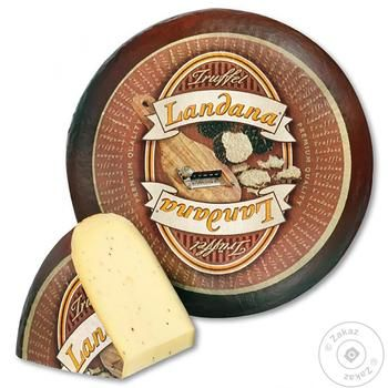 Landana Cheese Farm With Truffle Weight 50% - buy, prices for  Vostorg - image 1