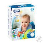 AURA Baby Diapers Mega-pack 4-9kg 60pcs